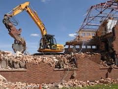 Demolition Excavator Hire in Brisbane CBD