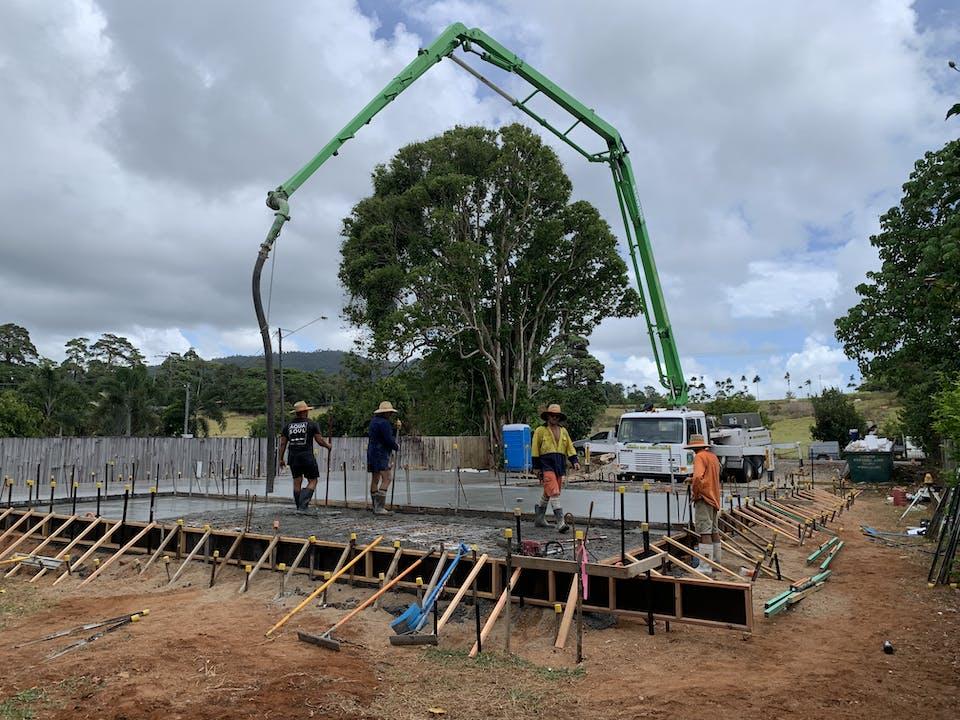 Cassowary Coast Concrete Construction & Concrete Pumping