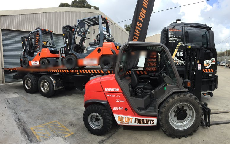 All Lift Forklifts & Access Equipment featured image